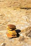 Steinhaufen stockbild