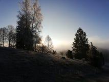 Steinheim in winter royalty free stock photos