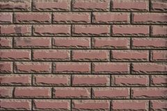 Steinhintergrund, Backsteinmauermusterbeschaffenheit Stockbilder