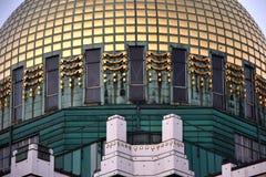 Steinhof Kirche Utträde Otto Wagner Church i Wien, Österrike arkivbild