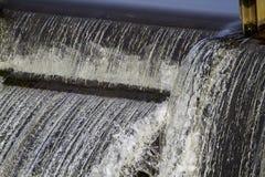 Steinhorster Becken瀑布 库存照片