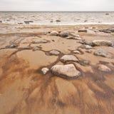 Steiniger Strand Stockfotos