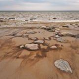 Steiniger Strand I Stockbild