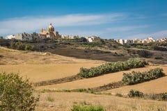 Steiniges Land in Malta Lizenzfreie Stockfotos