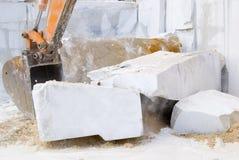 Steinindustrie Stockfotos