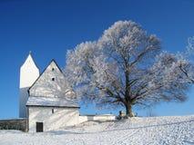 Steinkirchen on the samerberg Royalty Free Stock Photography