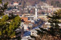 Steinkjer στη μέση της Νορβηγίας Στοκ εικόνα με δικαίωμα ελεύθερης χρήσης