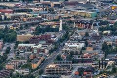 Steinkjer no meio de Noruega Imagens de Stock Royalty Free
