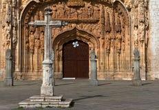 Steinkreuz an der Saint Paul-Kirche Lizenzfreie Stockbilder
