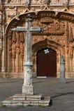 Steinkreuz an der Saint Paul-Kirche lizenzfreies stockfoto