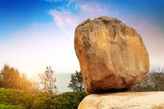 Steinlandschaft China Zhangzhou stockbilder