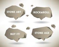 Steinluftblasen Stockfotografie
