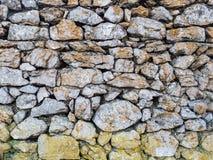 Steinmauermuster Lizenzfreie Stockfotografie
