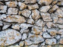 Steinmauermuster Stockfotos