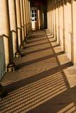 Steinmetzarbeit in des Stückes Hall, Halifax Lizenzfreies Stockfoto