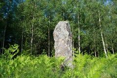 Steinmonument vom Eisenzeitalter Stockfotos