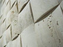 Steinmosaikwand Stockbild