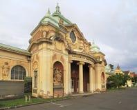 Steinnationalmuseum in Prag Lizenzfreie Stockbilder