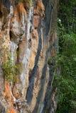 Steinoberfläche auf Berg stockfoto