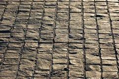 Steinpflasterstein des Granits lizenzfreies stockbild