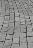 Steinpflasterung, Beschaffenheit und Formen Stockfotos