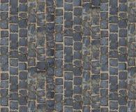 Steinpflasterungsbeschaffenheit Cobblestoned Plasterungshintergrund des Granits Abstrakter Hintergrund der alten Kopfsteinpflaste Stockfotos