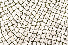 Steinpflasterungsbeschaffenheit/Zusammenfassungsstraßenhintergrund Stockfotografie