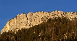 山steinplatte 库存图片