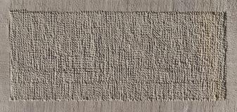 Steinplatte auf einer Außenwand Lizenzfreies Stockbild