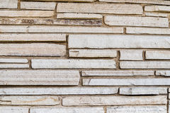 Steinplattenhintergrundwand Stockbild