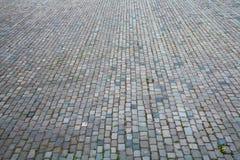 Steinquadrat Stockfoto