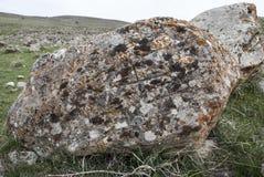 Steinruinen im Kirchen-Heiligen Zoravar Stockfoto
