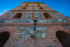 Steinschlossturm Stockbild