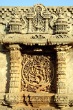Steinschnitzen Stockfoto