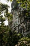Steinschnitzen in Guilin, Porzellan Stockfotografie