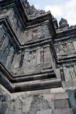 Steinschnitzen von Prambana Lizenzfreie Stockfotografie