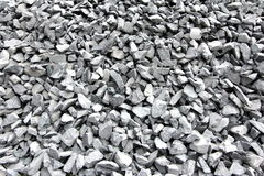 Steinschutthintergrund Lizenzfreies Stockfoto