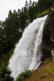 Steinsdalsfossen - a gorgeous waterfall in Norway Royalty Free Stock Images