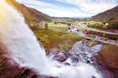 Steinsdalsfossen Stock Photography