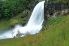 Steinsdalsfossen waterfall Royalty Free Stock Photography