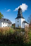Steinsdorf Sachsen, Tyskland fotografering för bildbyråer