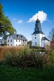 Steinsdorf, Saksen, Duitsland royalty-vrije stock fotografie