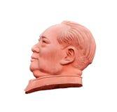 Steinskulptur von Mao Zedong Lizenzfreies Stockfoto