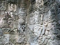 Steinskulpturen Stockbild