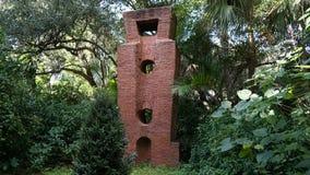 Steinskulpturen, Ann Norton Sculpture Gardens, West Palm Beach, Florida stockbilder