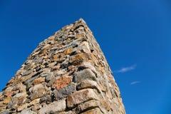 Steinspalte Lizenzfreie Stockbilder
