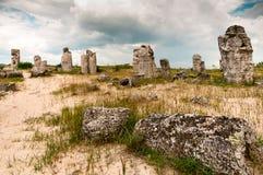 Steinstadt von Varna in Bulgarien Lizenzfreie Stockfotos