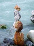 Steinstatue in Aareschlucht-Schlucht Stockbilder