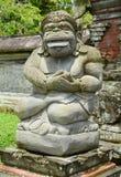 Steinstatue einer alten Gottheit lizenzfreies stockfoto
