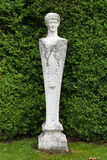 Steinstatue, Mottisfont-Abtei, Hampshire, England Lizenzfreie Stockfotografie